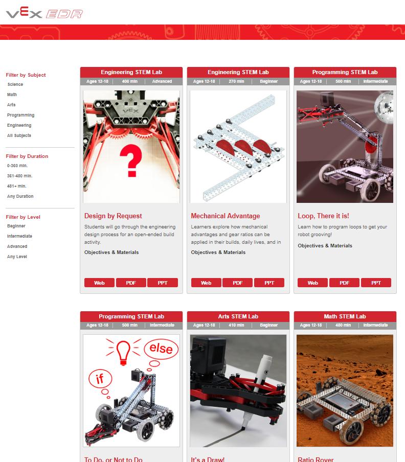 Innovate My School - VEX Robotics