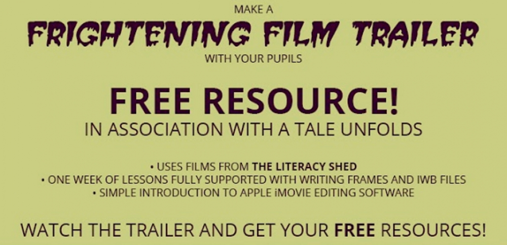 A Tale Unfolds and The Literacy Shed bring you… Frightful Film Trailer!