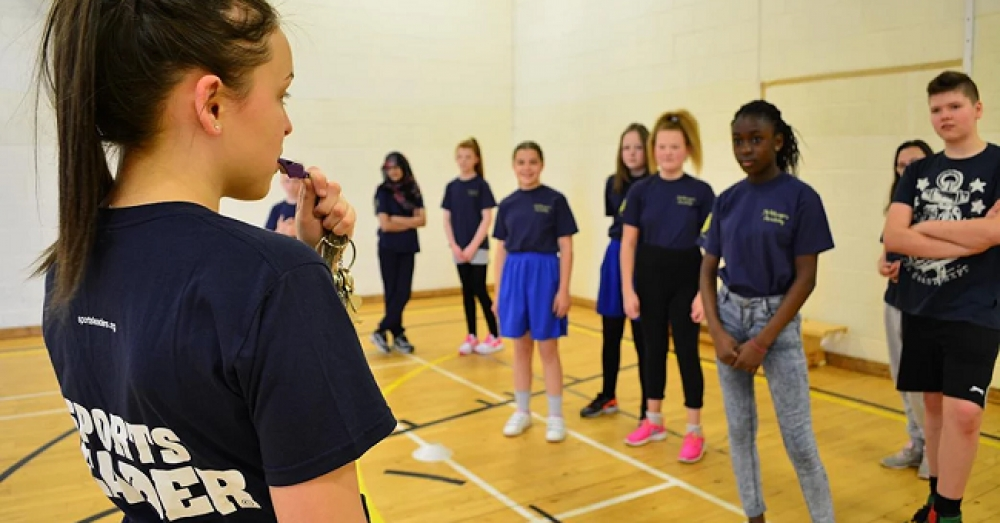 Pupils enhance learning skills by becoming Sports Leaders