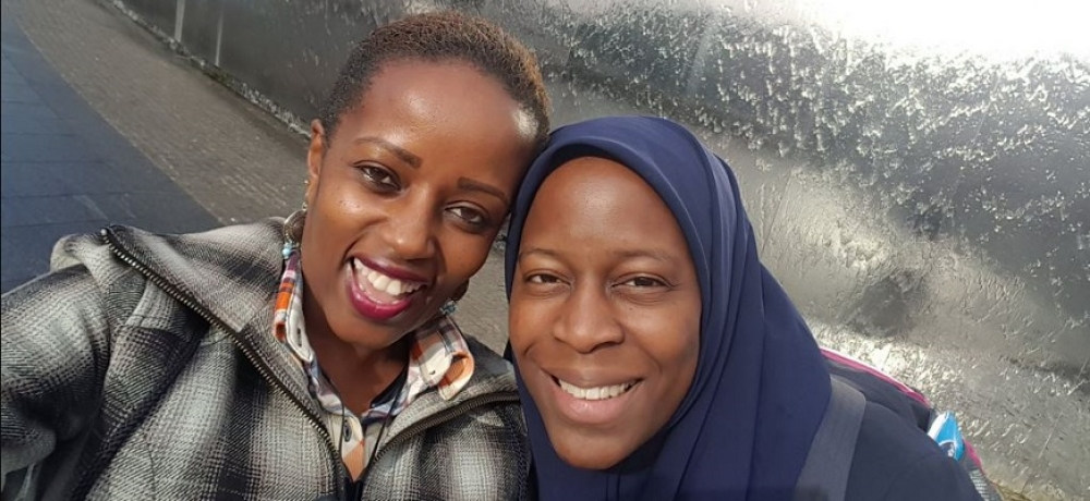 Susan with Bukky Yusuf // via @SuHAppyNess.