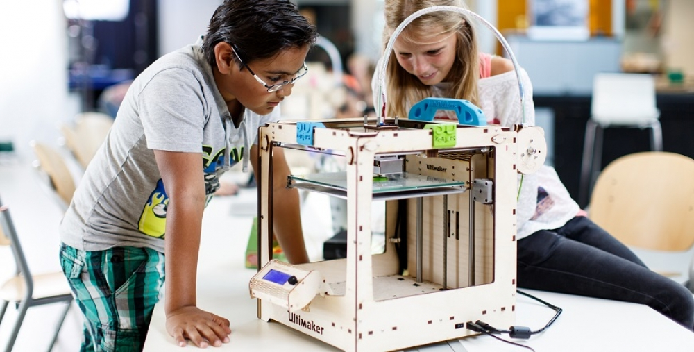 Bett 2017: Introducing 3D printing technology with the CREATE Education Project