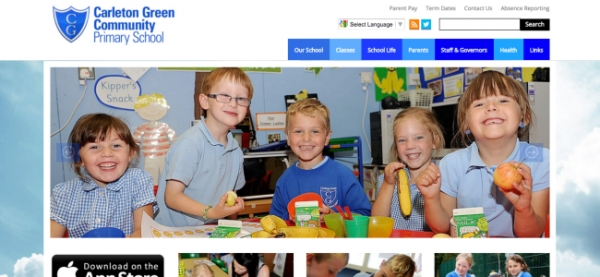 Lancashire school redesigns website for peak engagement