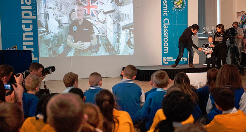 Tim Peake's mission: It's STEM, kids, but not as we know it!
