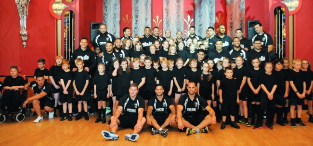 Our school visit: The New Zealand Kiwis rugby squad