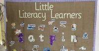 Literacy fortnight at Nethermains