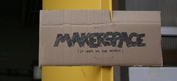 Disrupt a space. Makerspace