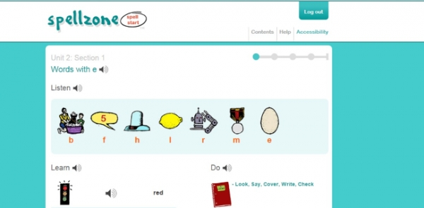 Online resource improves spelling and phonics across whole school