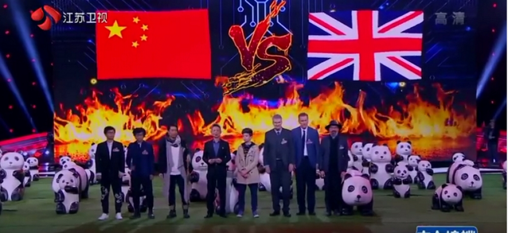 Berkshire pupil becomes Chinese TV star with memory challenge