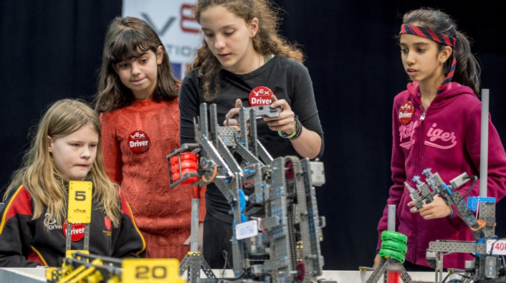 """They have students queuing up at the door"": robotics club sparks STEM success"