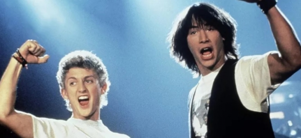 Image credit: Bill and Ted's Excellent Adventure // Orion Pictures.