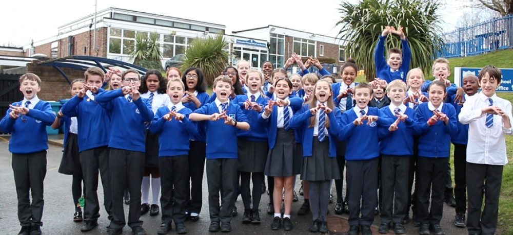 Tubbenden Primary's eco-warriors. // Image courtesy of supplier.