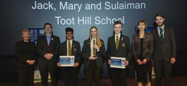 Nottinghamshire school wins national STEM Challenge at the Science Museum