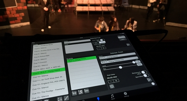 iPad app launched to give school theatre powerful sound-upgrade