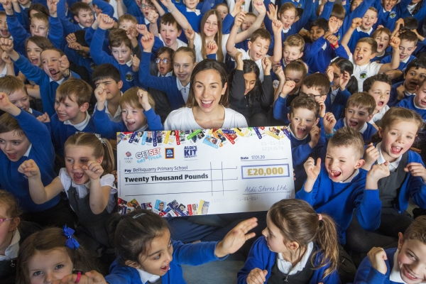 Aldi's Kit for Schools awards 20 UK schools £20,000 to support health legacies