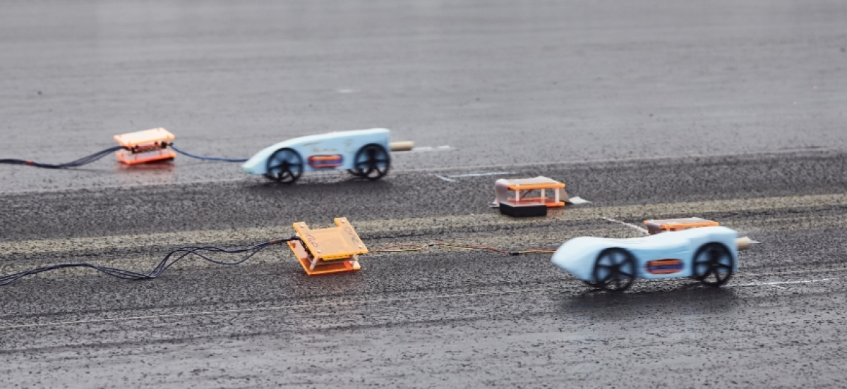 Bloodhound Ssc And Microsoft Launch Model Rocket Car Compeion