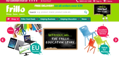 Frillo launches major webstore for the education sector