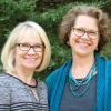 Sue Amacker and Kate McElvaney